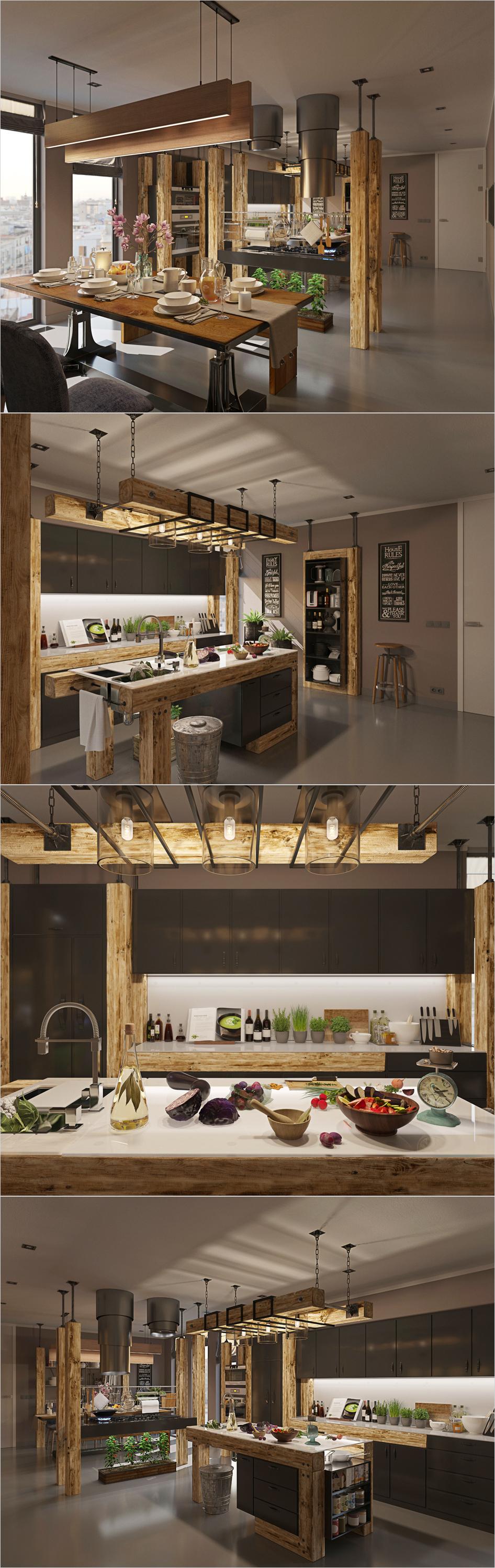 loft hi tech design