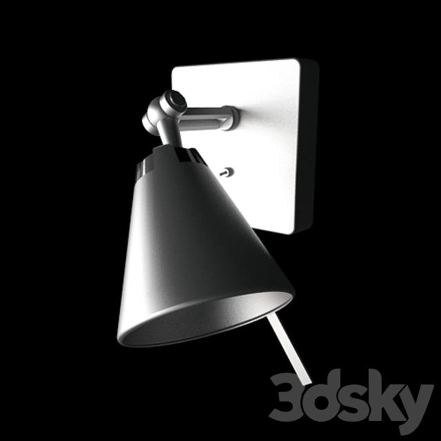 3d Models Wall Light Ikea Husvik