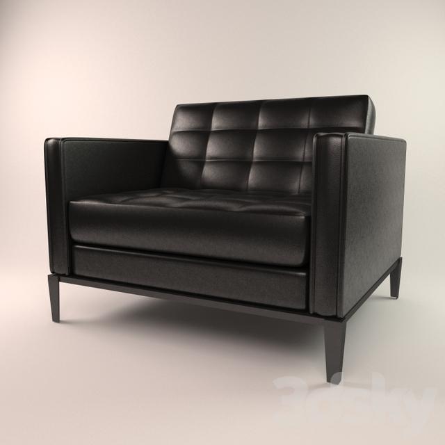 3d Models Arm Chair Lounge Chair B B Italia