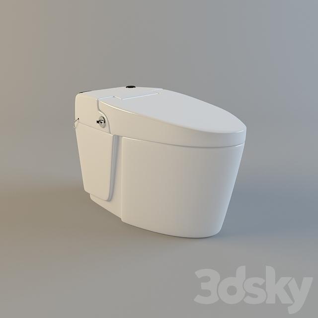 3d models: Toilet and Bidet - Toilet bravat