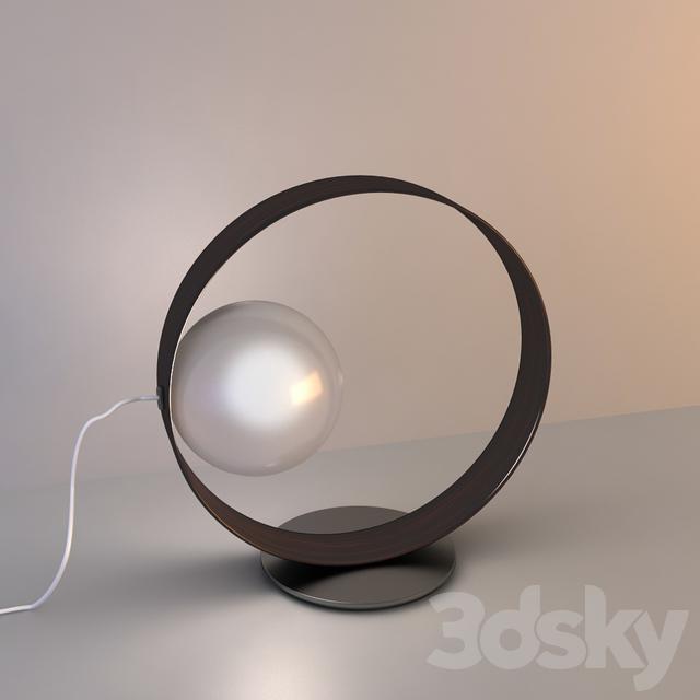 itre lighting itre lamp 3d models table