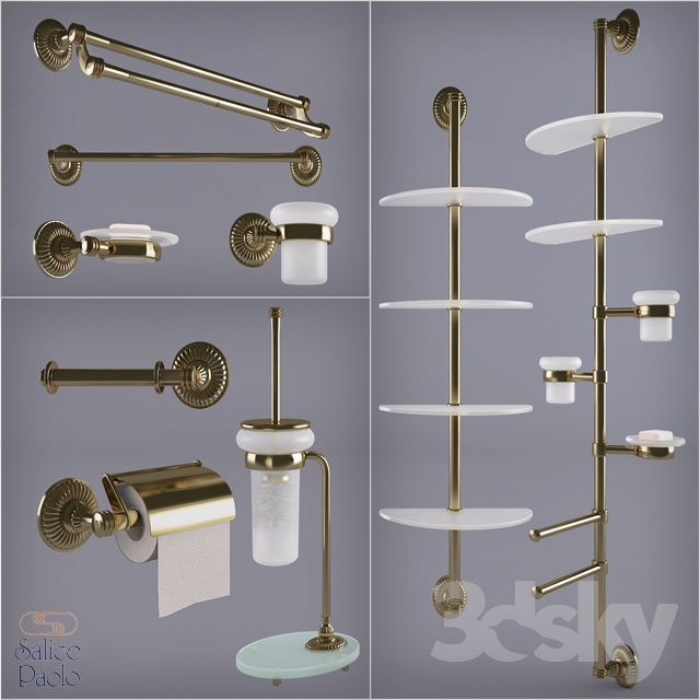 3d models bathroom accessories salice paolo zeus for Salice paolo
