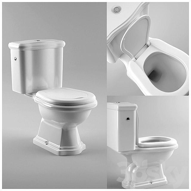 Retro Wc Pot.3d Models Toilet And Bidet Kerasan Retro Art 101201