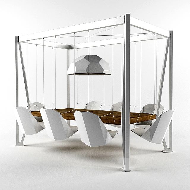 Superior Duffy London Swing Table