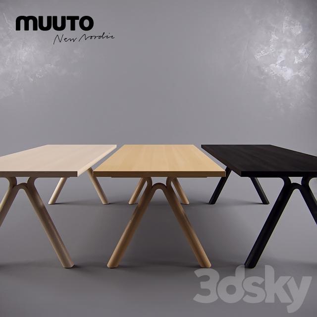 3d models table muuto table split