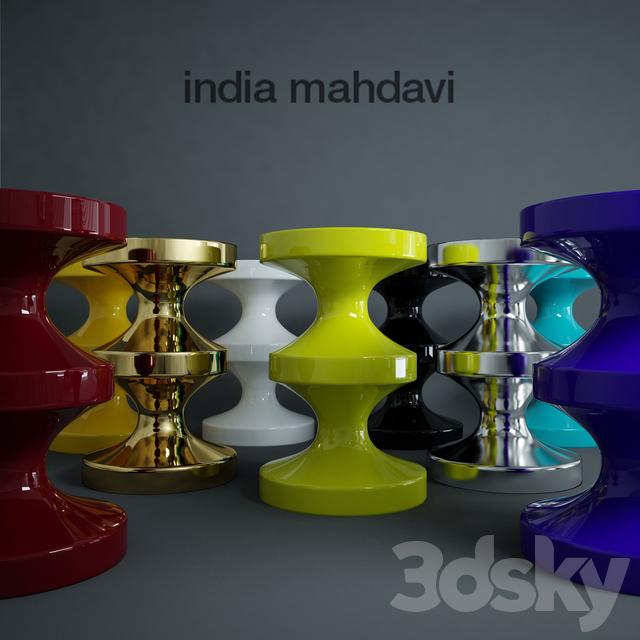 Stool Of India Mahdavi