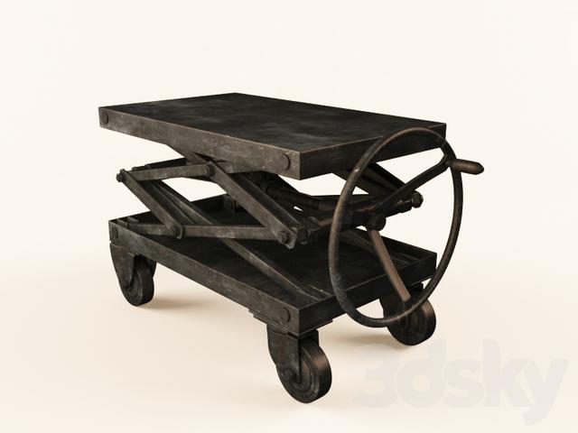 Scissor Lift Table Iron
