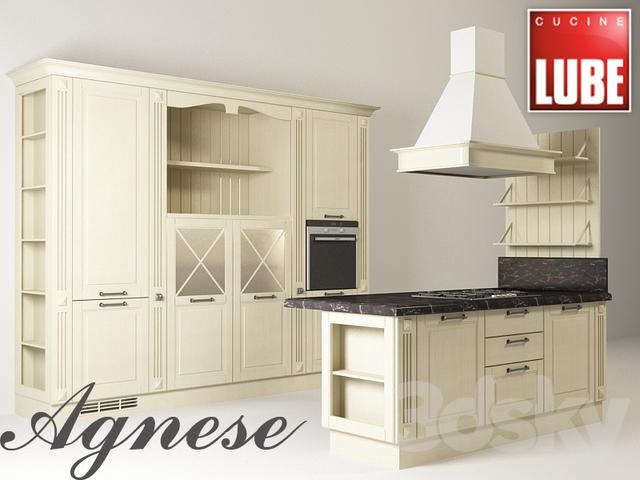 3d models: Kitchen - CUCINE LUBE Agnese