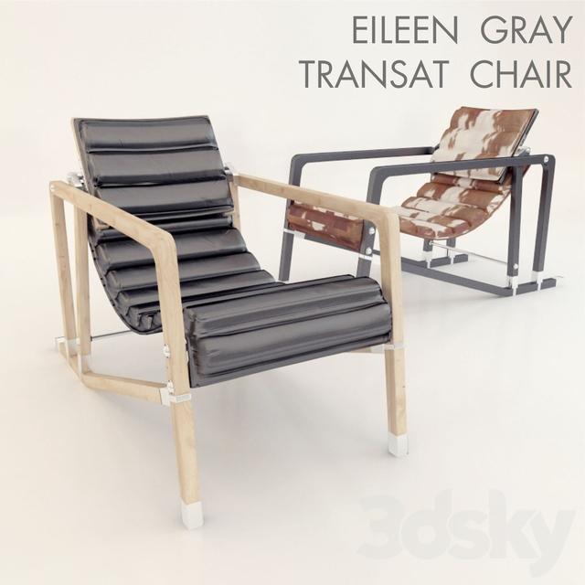 3d Models: Arm Chair   Eileen Gray Transat Chair