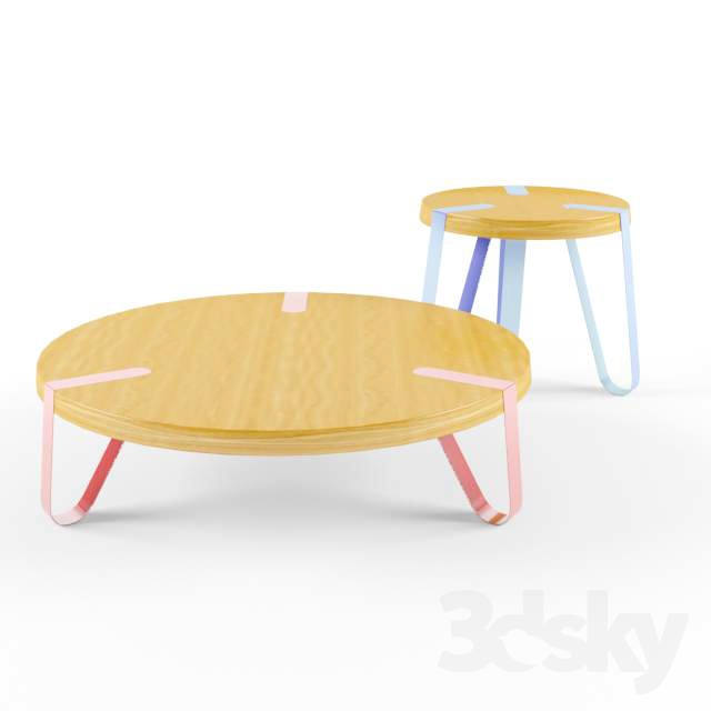 3d models table level coffee table for 3 level coffee table
