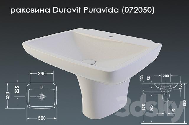 Duravit Puravida (072050)