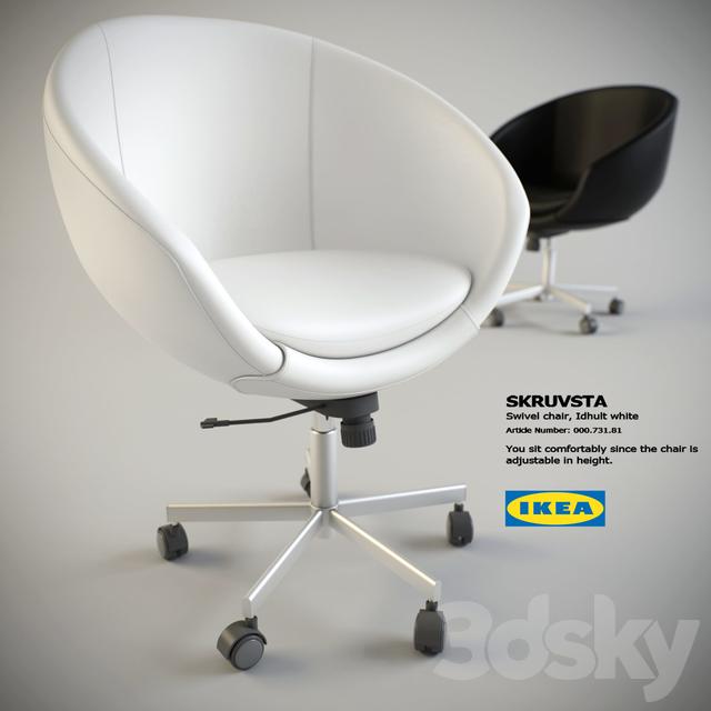 3d Models Office Furniture Ikea Skruvsta