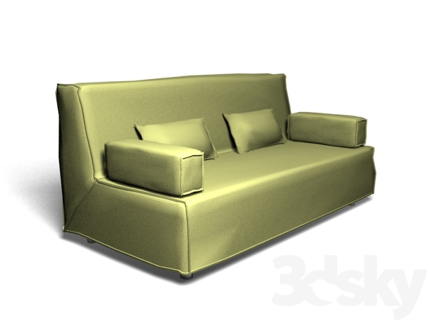 3d models sofa ikea beddinge lovas. Black Bedroom Furniture Sets. Home Design Ideas