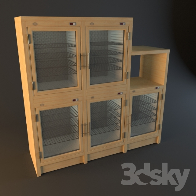 3d Models Kitchen Wine Cabinets Chambrair