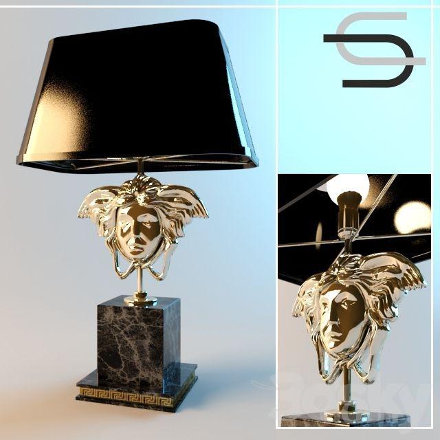 L&ara Versace II & 3d models: Table lamp - Lampara Versace II