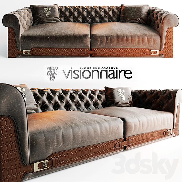 3d models sofa sofa visionnaire ipe cavalli