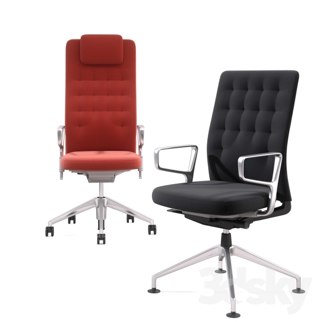 48d Models Office Furniture Office Chair VITRA ID TRIM Cool Ids Furniture Model