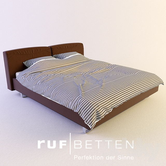 3d models bed ruf betten bellini. Black Bedroom Furniture Sets. Home Design Ideas