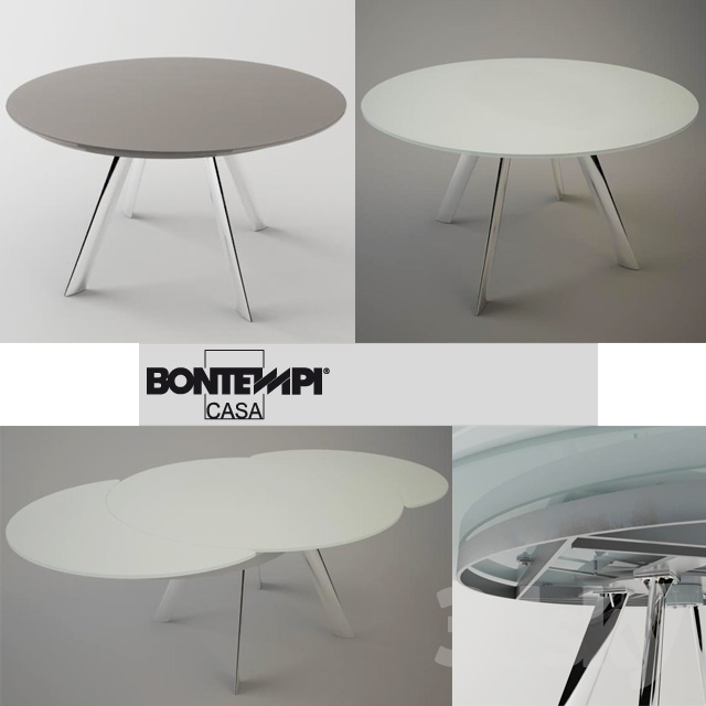3d models table giro table by bontempi casa for Table 6a of gstr 1