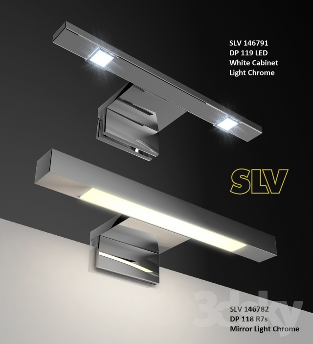 3d models wall light dp 119 led dp 118 r7s. Black Bedroom Furniture Sets. Home Design Ideas