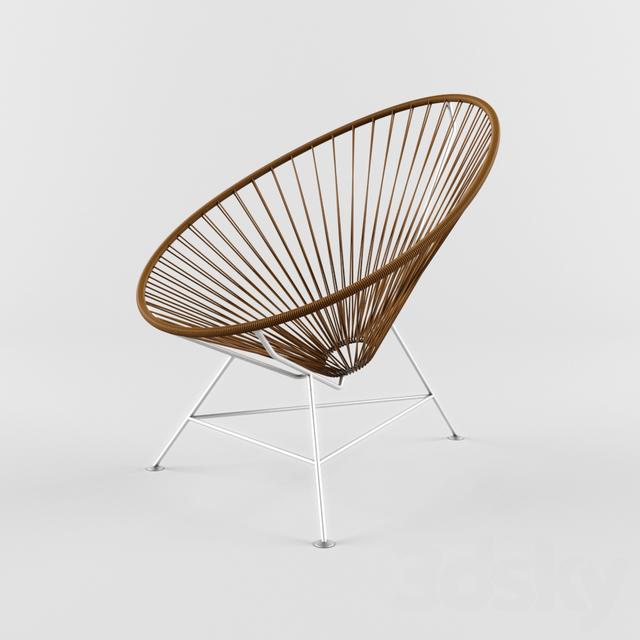 3d models: Chair - Acapulco Chair