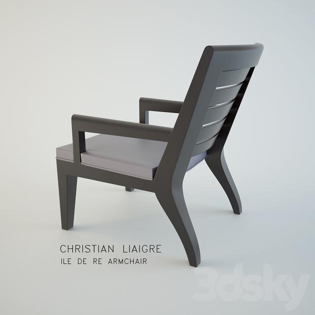 3d Models Arm Chair Ile De Re Armchair