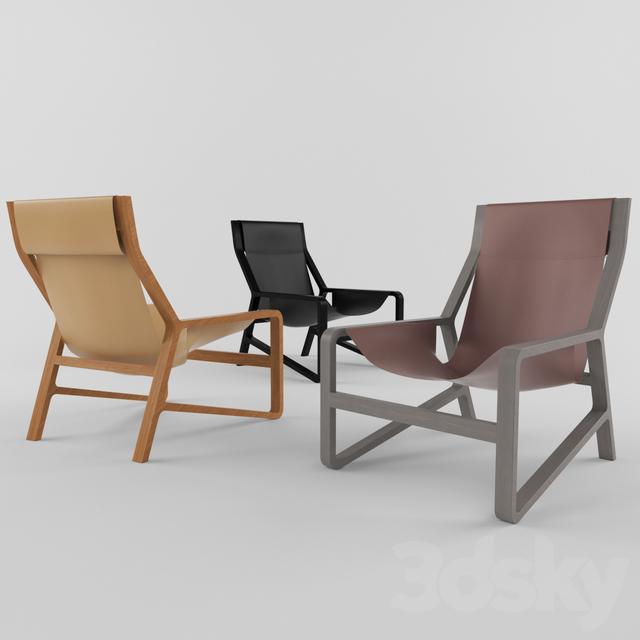 3d models Chair Blu Dot Toro Lounge Chair