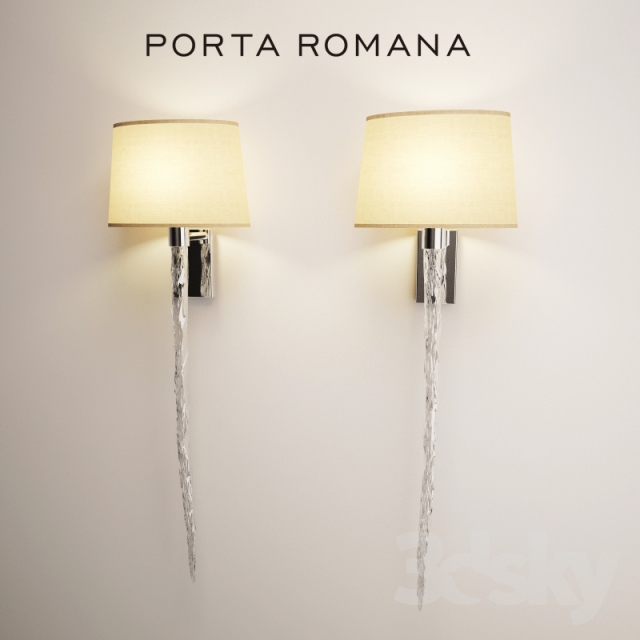 3d models wall light porta romana icicle porta romana icicle mozeypictures Image collections