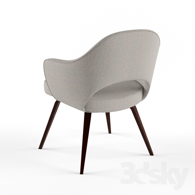 3d Models: Chair   Knoll Saarinen Executive Arm Chair