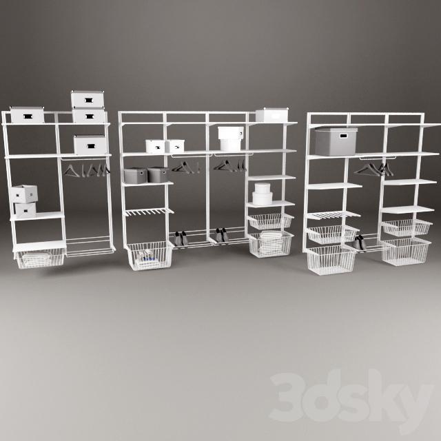 IKEA Storage System Algot