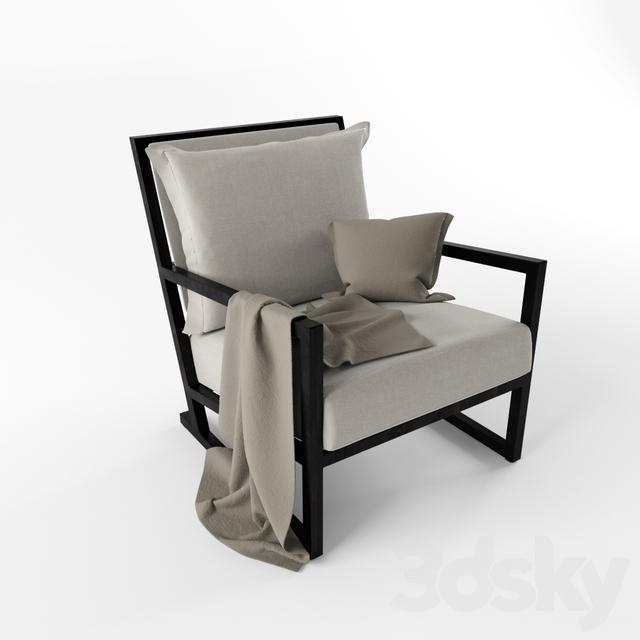 3d models arm chair chair clio maxalto a brand of b for B b italia spa