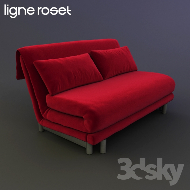 Ligne Roset Multy 3d models sofa ligne roset multy