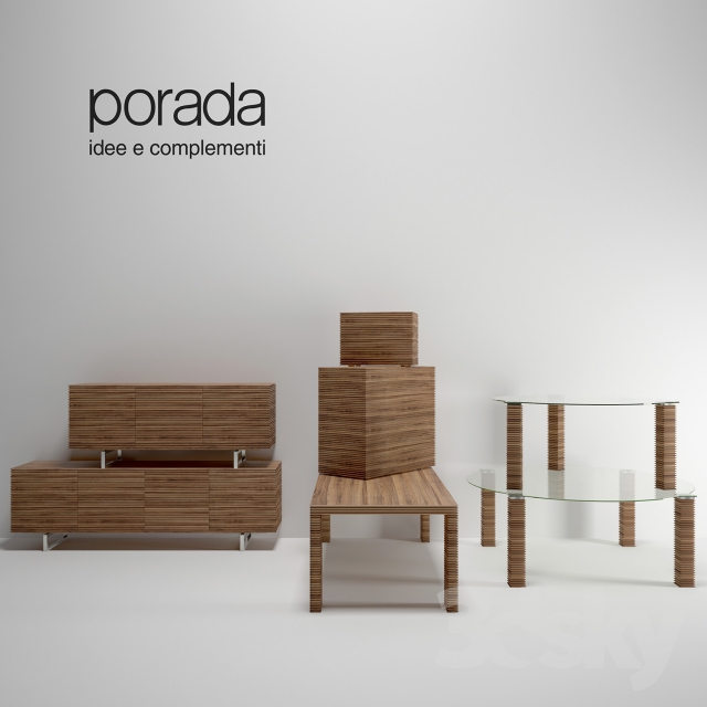 3d models other set of furniture from riga porada for Furniture riga