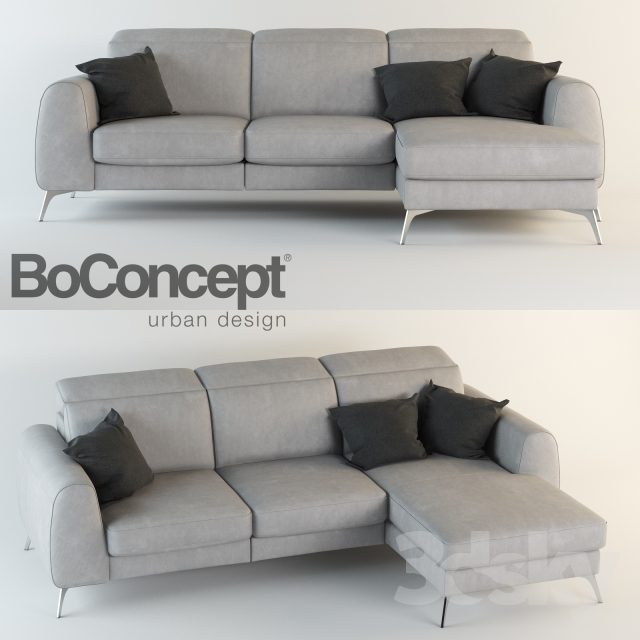 Enjoyable 3D Models Sofa Boconcept Madison Cjindustries Chair Design For Home Cjindustriesco