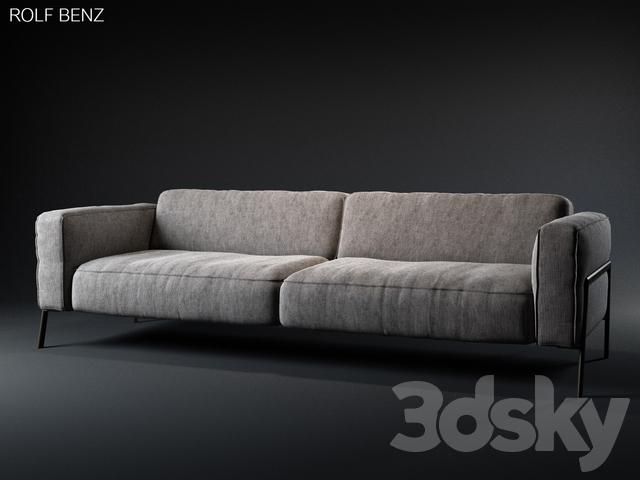3d models: Sofa - Rolf Benz - Bacio sofa