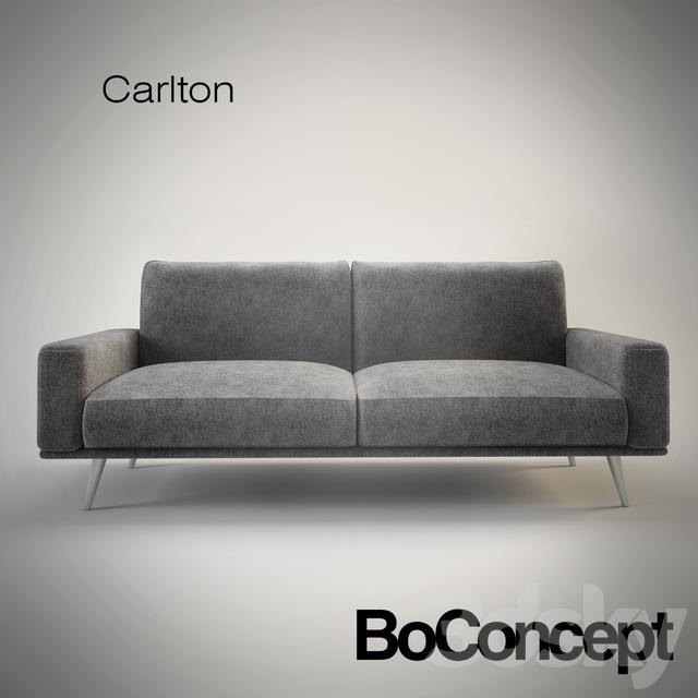 Sofa Boconcept 3d models sofa boconcept carlton sofa