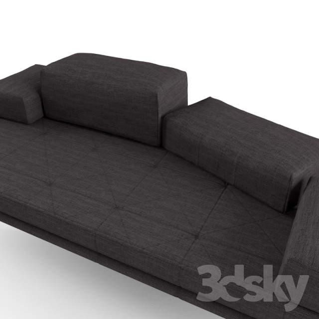 3d models sofa sofa boconcept fusion. Black Bedroom Furniture Sets. Home Design Ideas