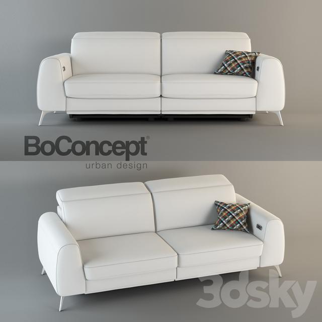 Pleasant 3D Models Sofa Sofa Boconcept Madison Cjindustries Chair Design For Home Cjindustriesco