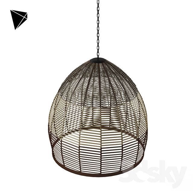 Wicker Pendant Lights
