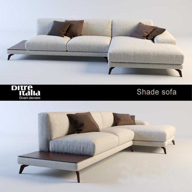 3d Models Sofa Sofa Shade Ditre Italia