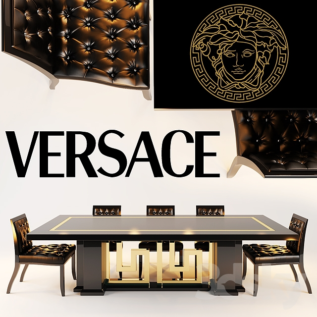 Versace Chair SHADOW, DINING TABLES CARTESIO