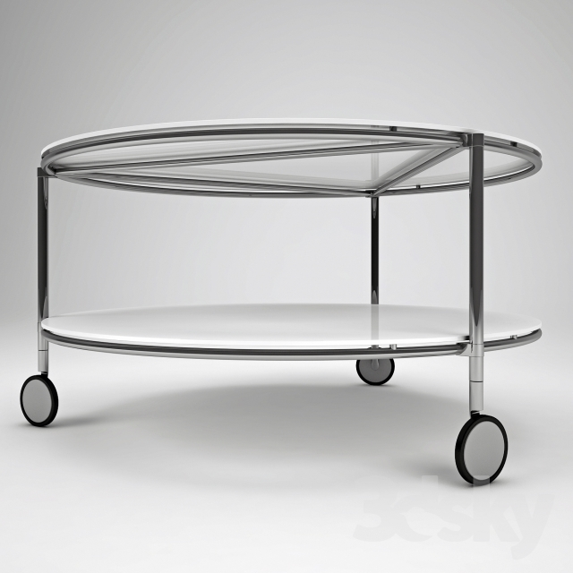 3d models: Table - Ikea Strind coffee table