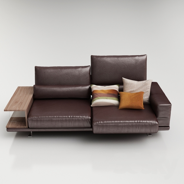 3d Models Sofa Rolf Benz Vero Sofa