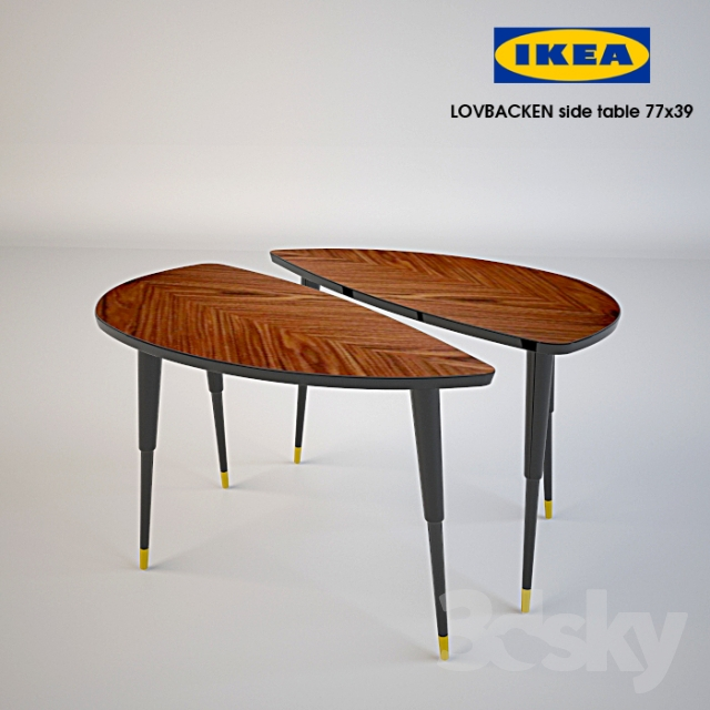 3d models table ikea lovbacken