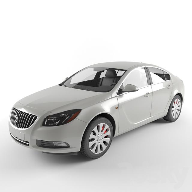 3d Models Transport Buick Regal