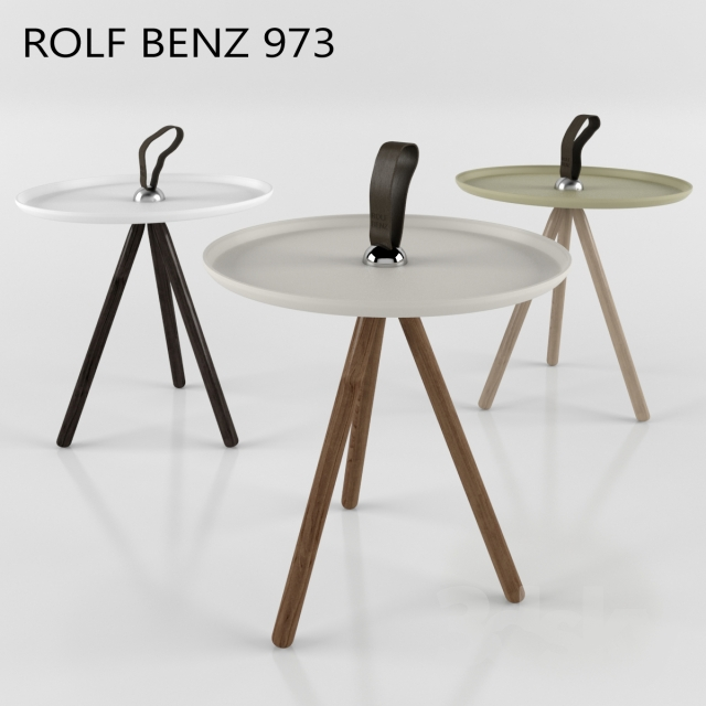 3d models table rolf benz 973. Black Bedroom Furniture Sets. Home Design Ideas
