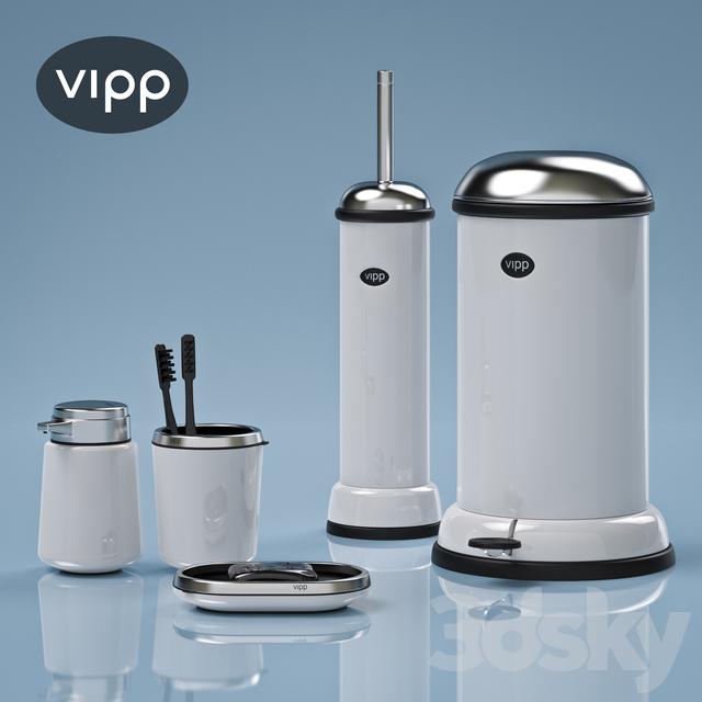 3d models bathroom accessories vipp bath accessories