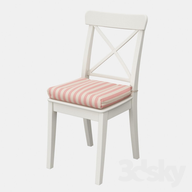 Attirant Ikea Ingolf Chair With A Pillow Ulla May