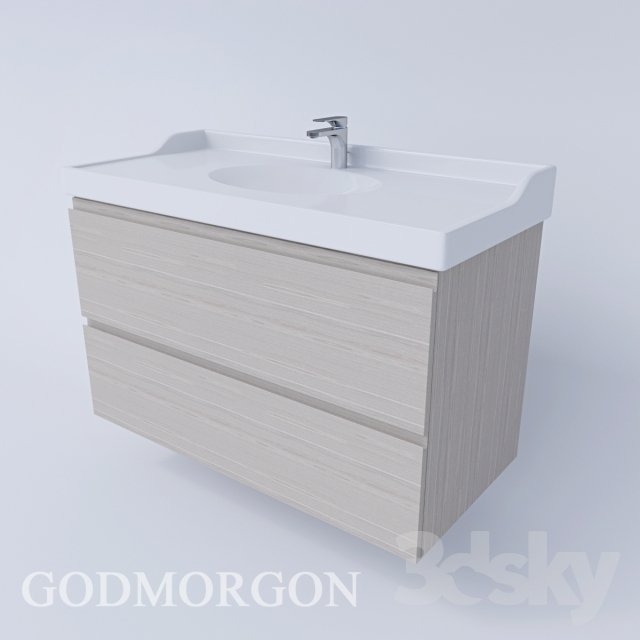 3d models bathroom furniture godmorgon rettviken ikea. Black Bedroom Furniture Sets. Home Design Ideas