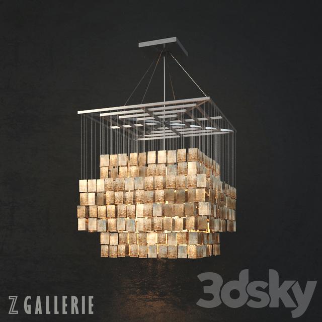 z gallerie chandelier mercer chandelier capiz chandelier from gallerie 3d models ceiling light
